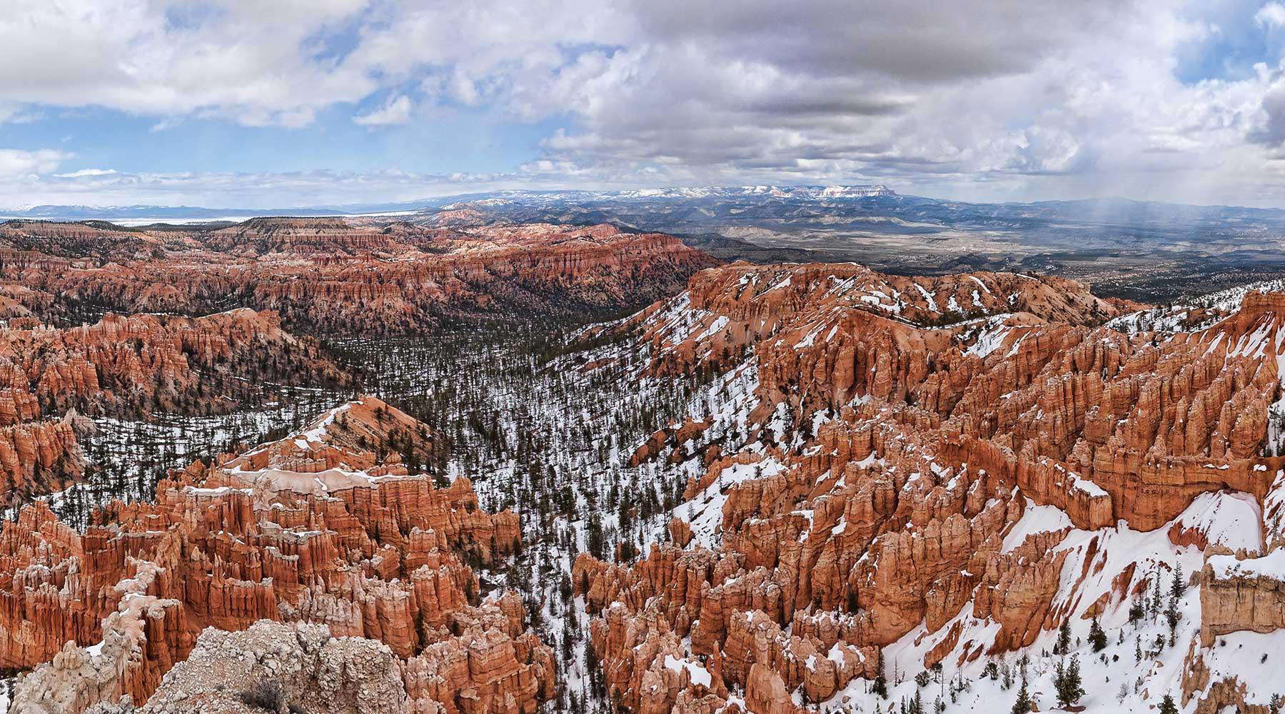 BryceCanyon-Bryce, Grands parcs de l'ouest en hiver, zion, grand canyon, bryce canyon, monument vallée, monument valley, las vegas, chinook voyage, aventure, randonnée