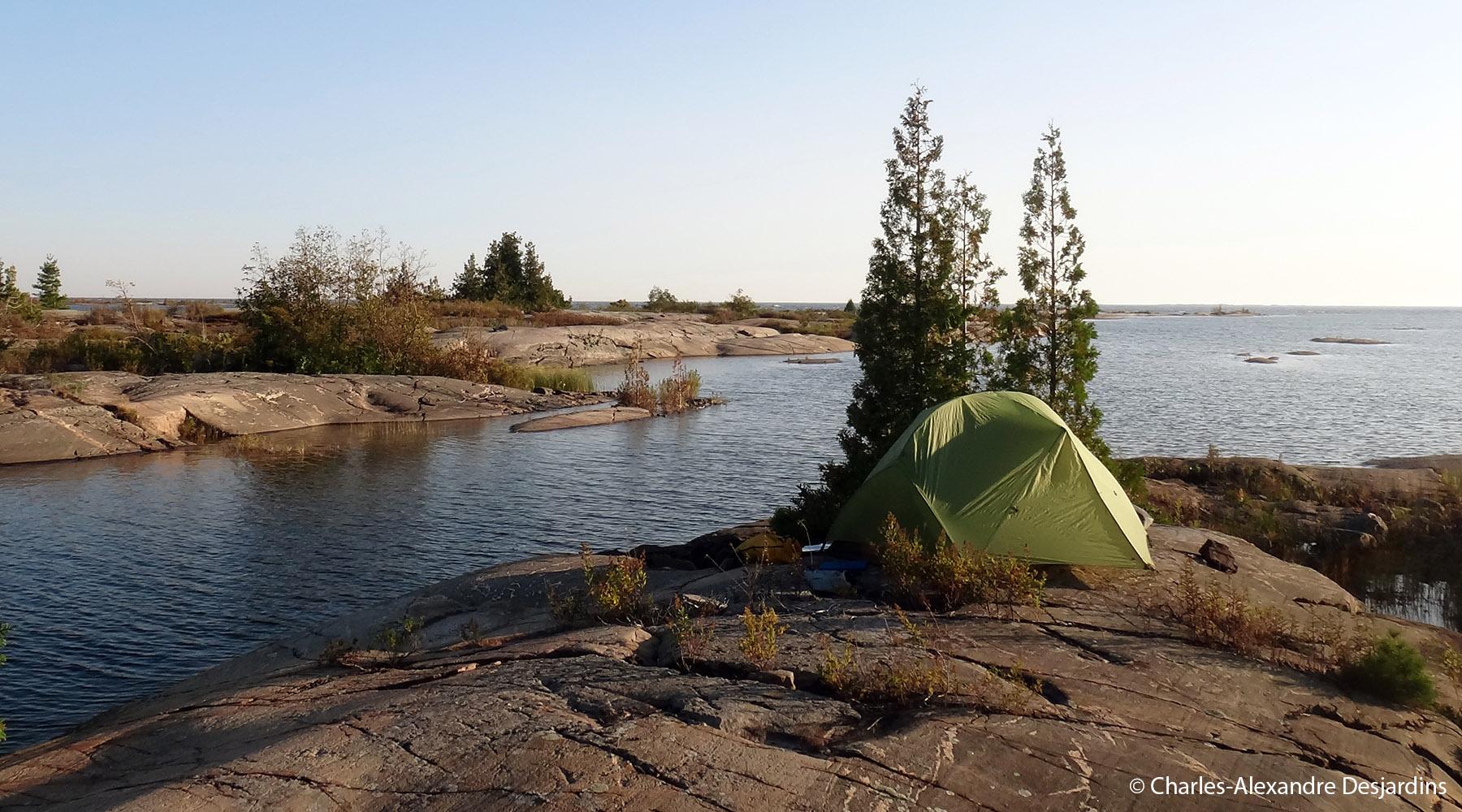 Chinook voyages, kayak de mer, baie georgienne, aventure, détour nature