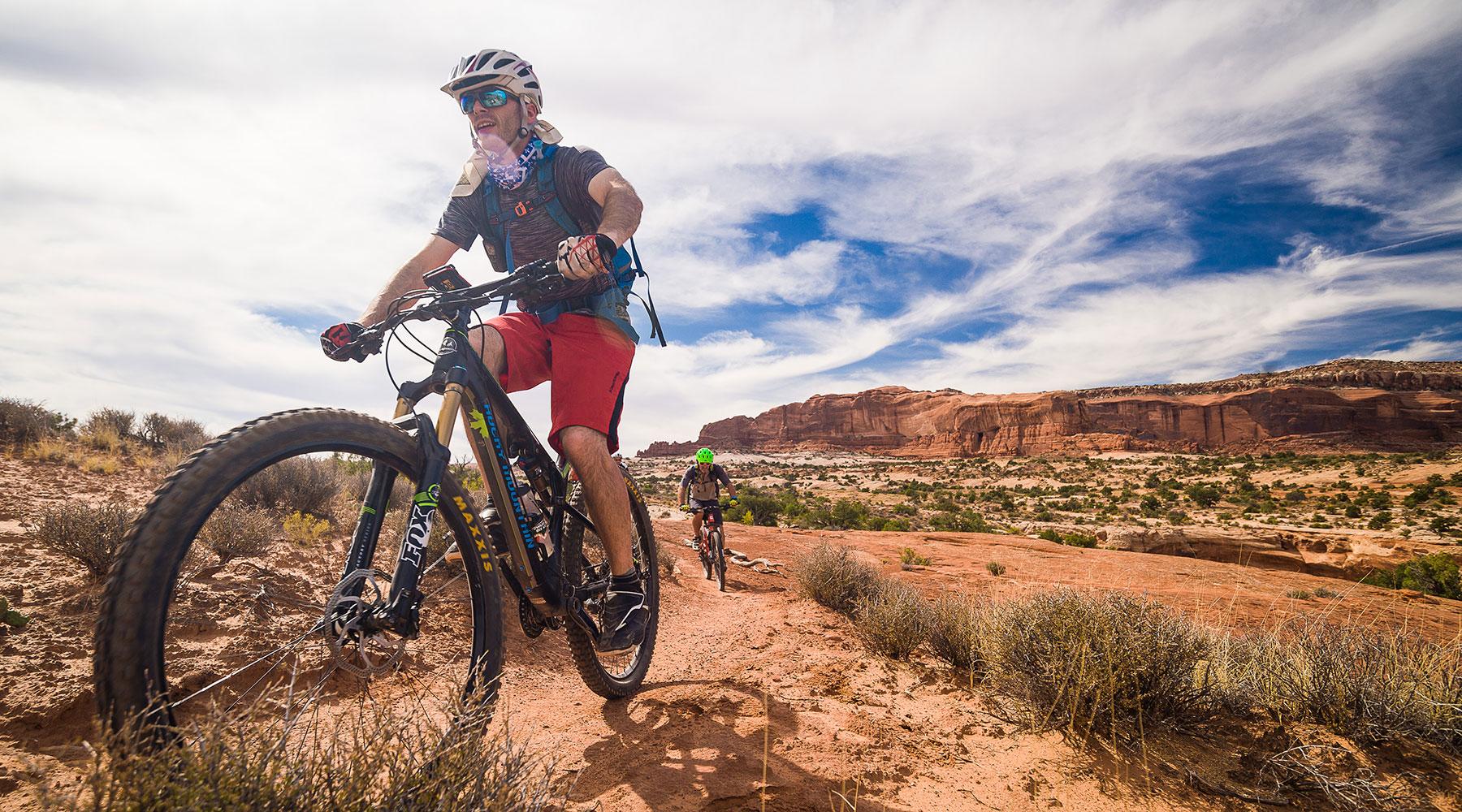 Moab, vtt, vélo de montagne, chinook, voyages, aventure, vacances, mountain bike