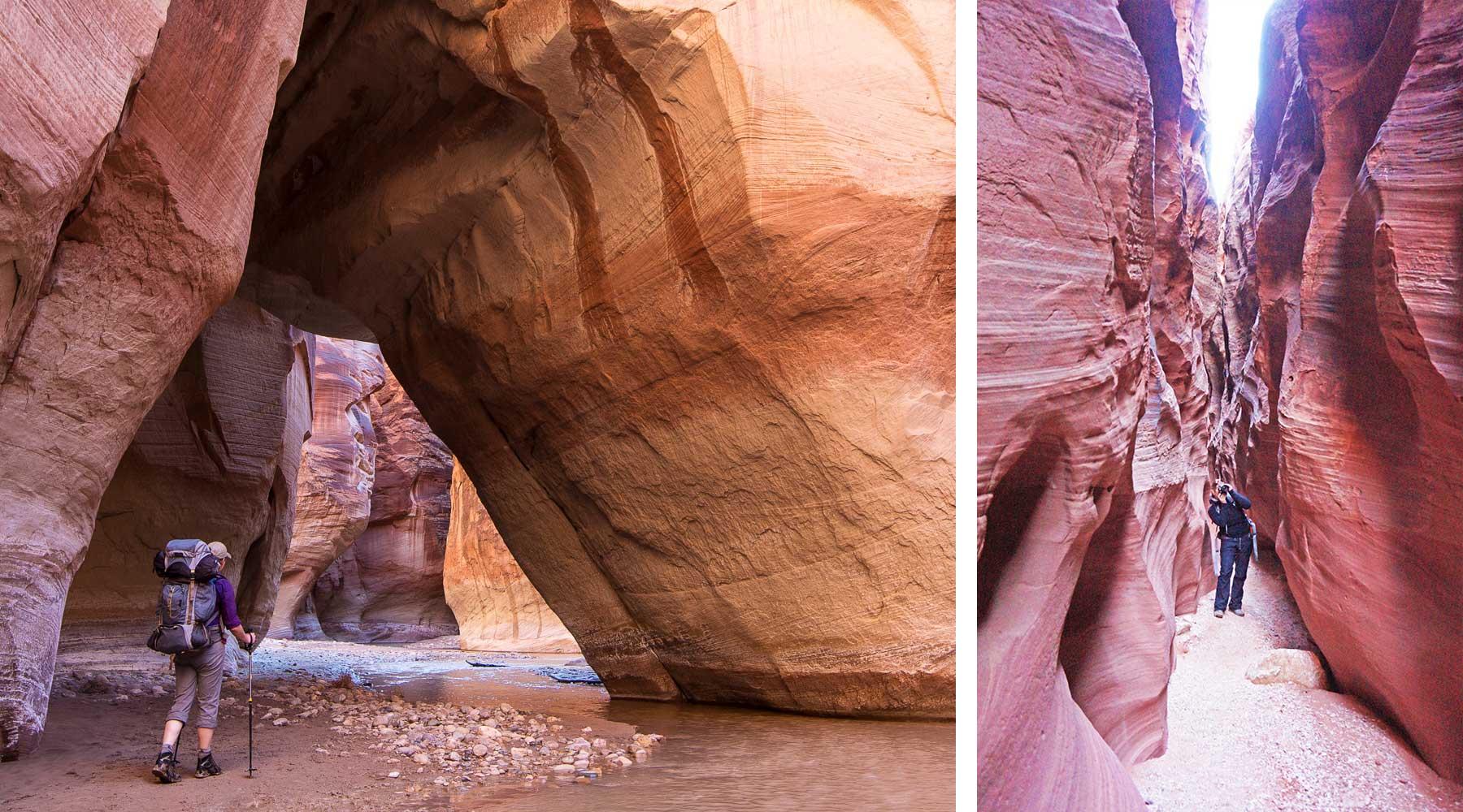 Bryce Canyon,  Buckskin Gulch, Les grands parcs de l'ouest en hiver, zion, grand canyon, bryce canyon, monument vallée, monument valley, las vegas, chinook voyage, aventure, randonnée