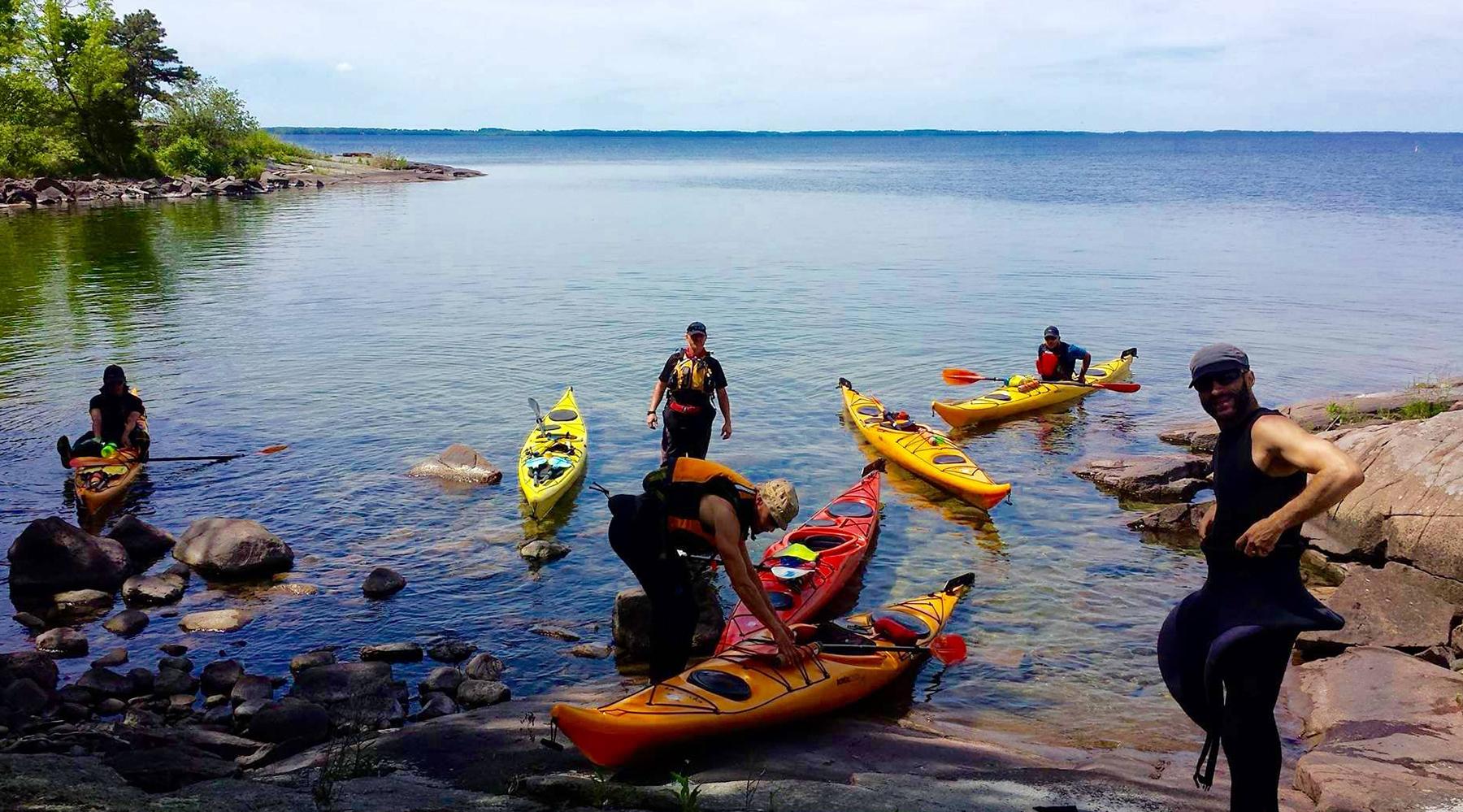 mille-îles en kayak - voyage kayak de mer - voyage kayak - kayak de mer - randonnée kayak - itinérance kayak