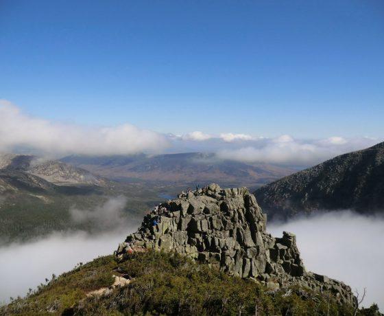 Mont Katahdin en randonnée pédestre
