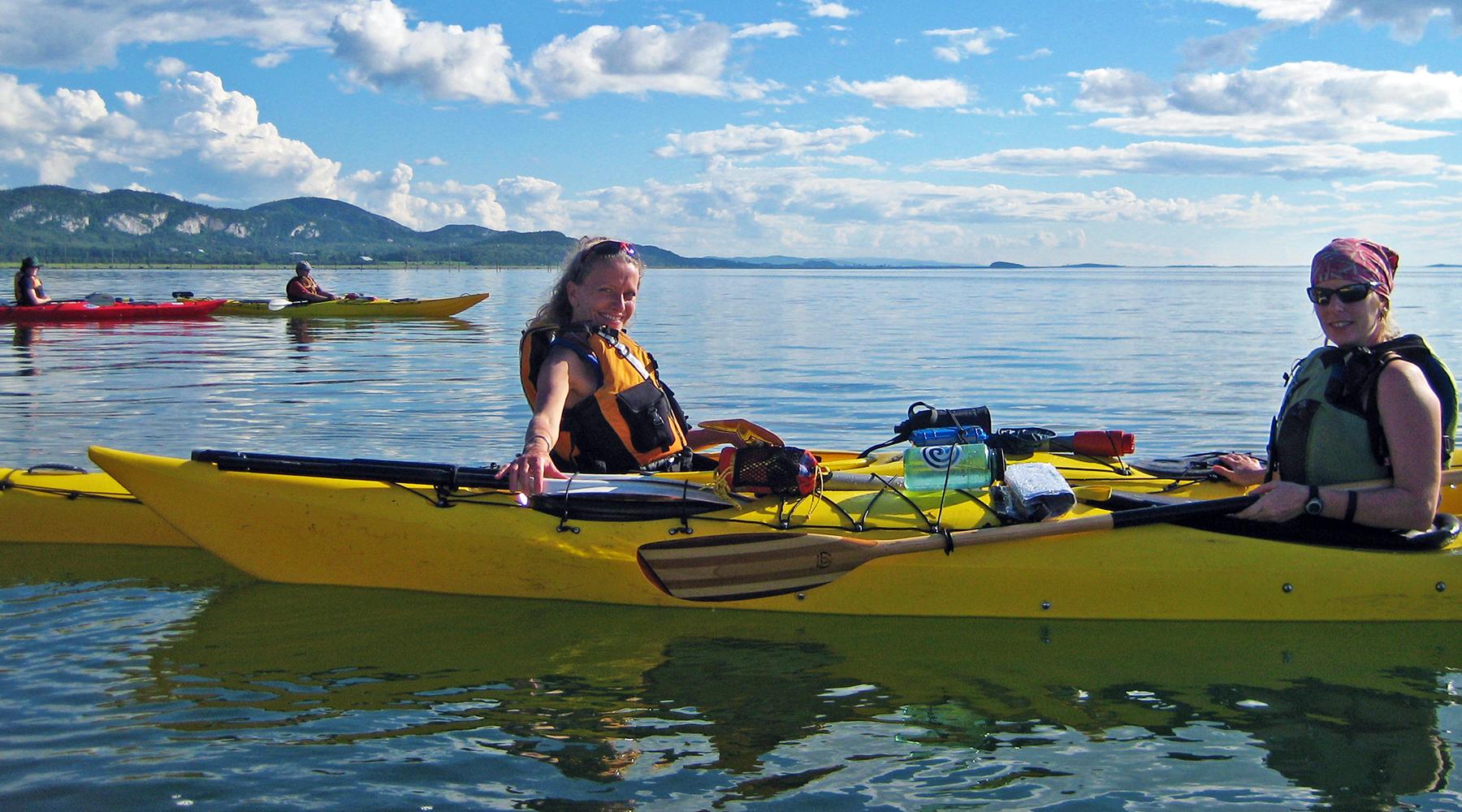 archipel kamouraska - québec - kayak de mer - nature - voyage d'aventure