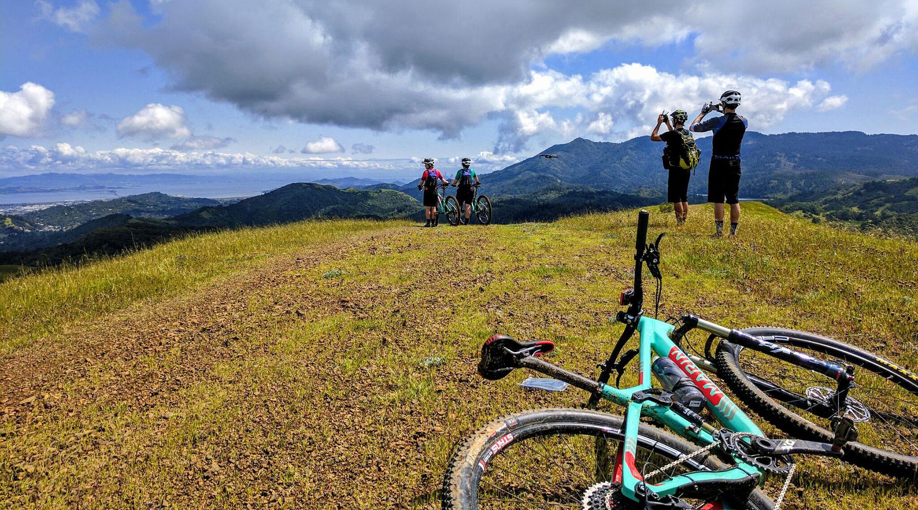 formation vélo de montagne, initiation vélo de montagne, Marin County Californie