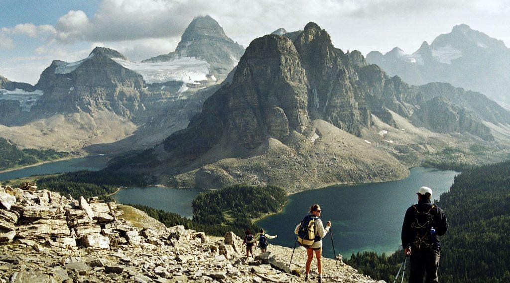 rocheuses canadiennes - randonnée pédestre - voyage d'aventure - chinook aventure - voyage guidé - voyage randonnée