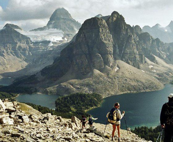 rocheuses canadiennes - randonnée pédestre