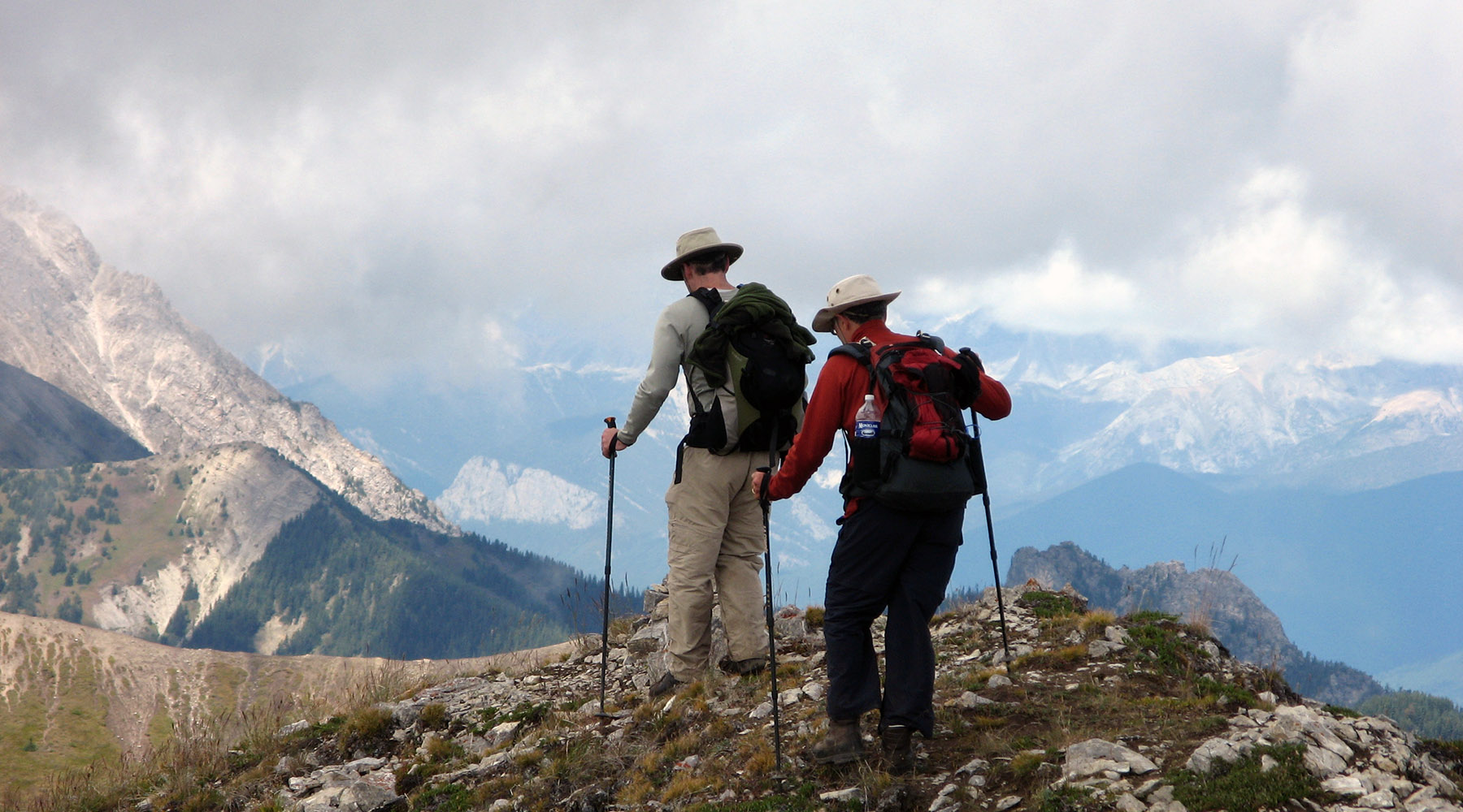 Rocheuses canadiennes, Chinook voyages, aventure, randonnée, ouest canadien