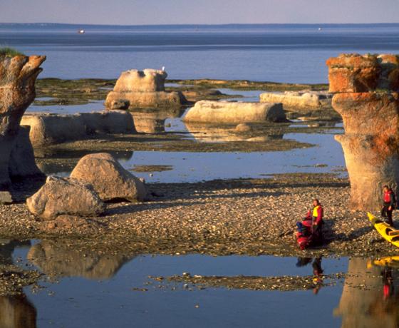 mingan - kayak de mer - expédition - cote nord