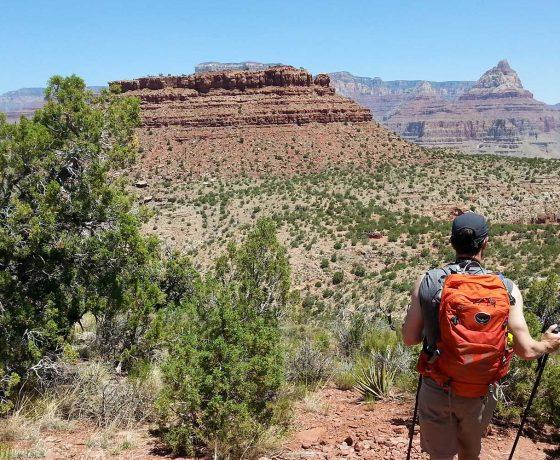 grand canyon - backpacking - voyage d'aventure - voyage de randonnée