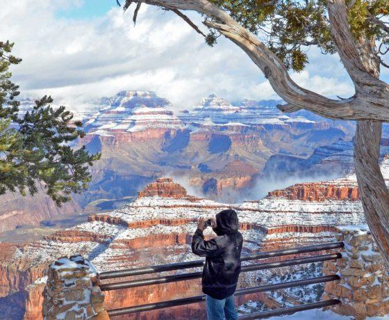 ouest américain - randonnée pédestre - randonnée hivernale - ouest américain en randonnée - ouest américain en randonnée pédestre - grand canyon - randonnée grand canyon - grand canyon hiver