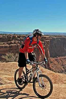 Francois-Xavier gagnon - guide d'aventure - vélo de montagne - Chinook Aventure