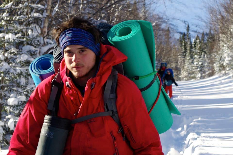 Sylvain Gagnon - guide d'aventure - chinook aventure - ski de fond - randonnée pédestre