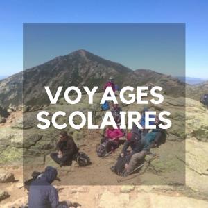 voyages scolaires - voyages d'aventure - organisation voyage scolaire - activités plein air - Chinook Aventure