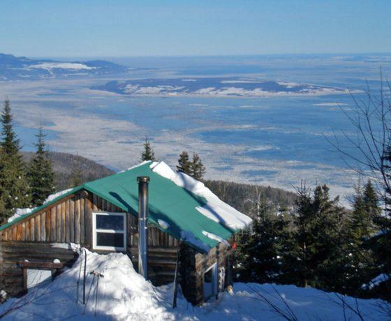 randonnée en raquette - randonnée hivernale - le massif en hiver