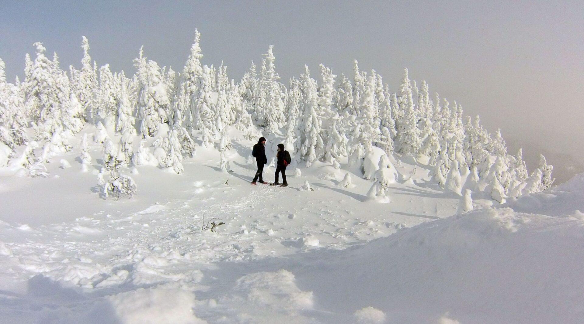 mont valin en hiver - voyage raquette - voyage randonnée hiver